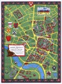 HARVARD University map CAMBRIDGE vintage wall art campus
