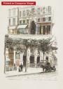 Paris wall art THEATRE FOLIES lithograph french antique