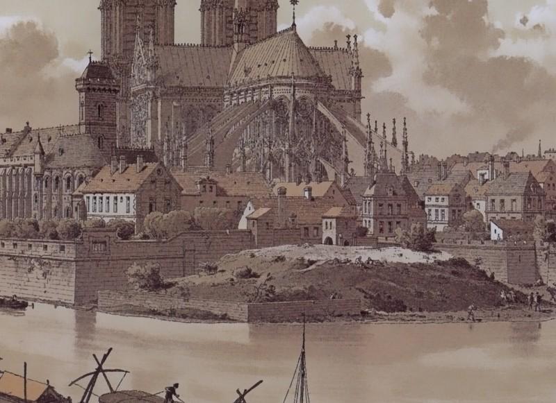 Paris Wall Art Notre Dame 1595 Figure 1 4 Paris