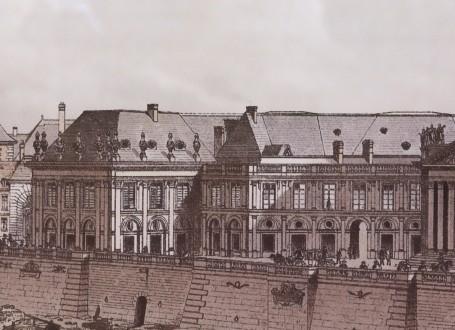 Paris Wall Art - Tour de Nesle 1689 - Figure 3/4 - paris bedroom decor, french country decor, gift for architect