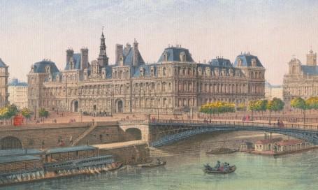 Paris Wall Art - HOTEL DE VILLE