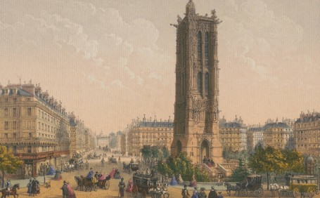 Paris Wall Art - TOUR SAINT JACQUES
