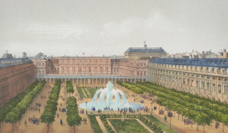 Paris Wall Art - PALAIS ROYAL