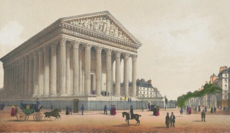 Paris Wall Art - LA MADELEINE