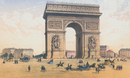 Paris Wall Art - ARC DE TRIOMPHE
